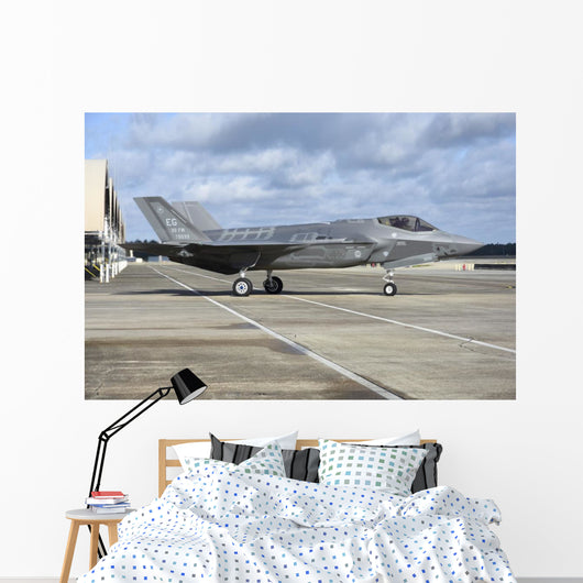 Us Air Force F-35a Right Wall Decal