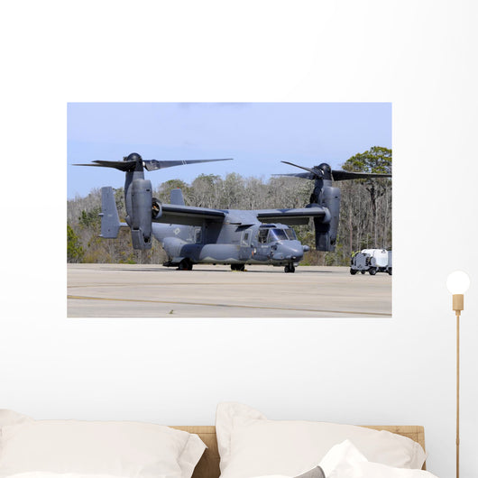 Us Air Force Cv-22b Right Profile Wall Decal