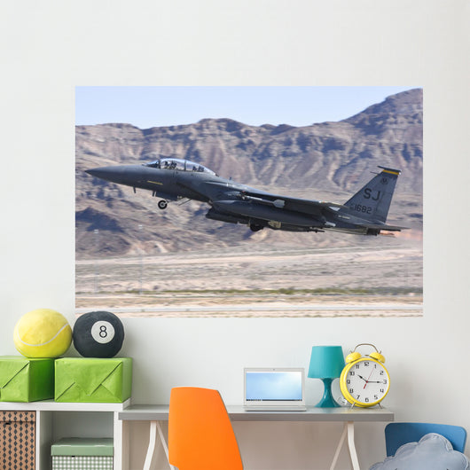 Us Air Force F-15e Left Profile Wall Decal