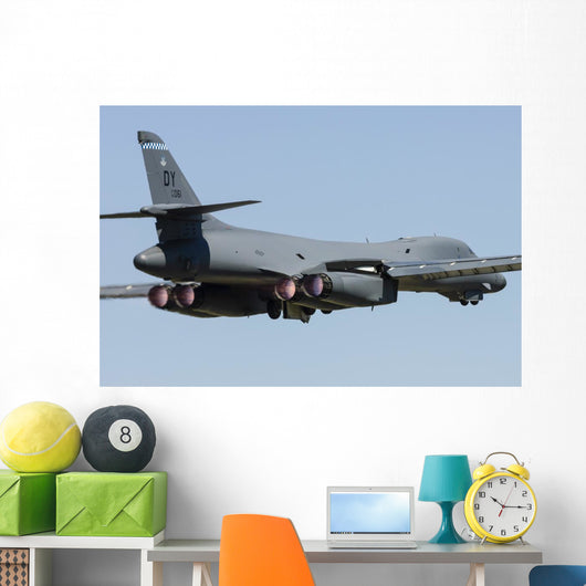 Us Air Force B-1b Back Wall Decal