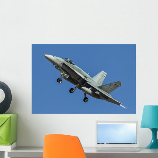 Royal Canadian Air Force Fighter Wall Decal