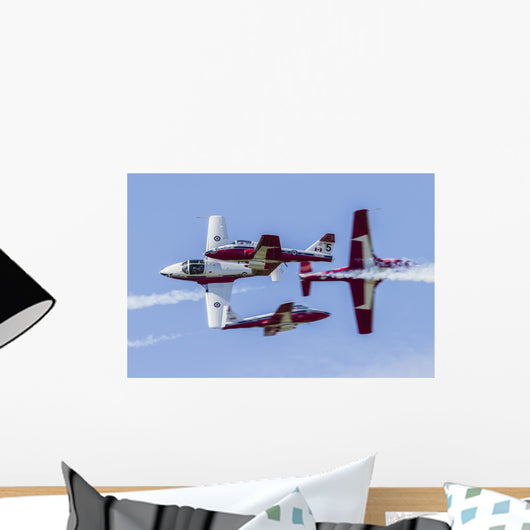 Royal Canadian Air Force Stunt Show Wall Decal