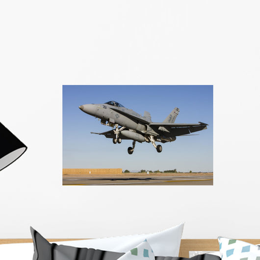 Us Navy F A-18c Wall Decal