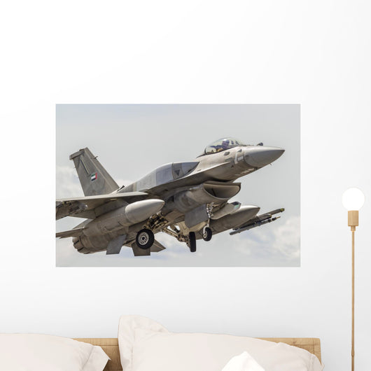 United Arab Emirates F-16e Wall Decal