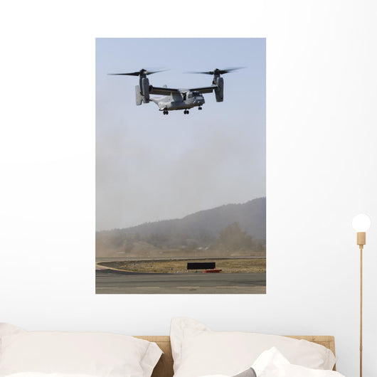Us Marine Corps V-22 Vertical Wall Decal