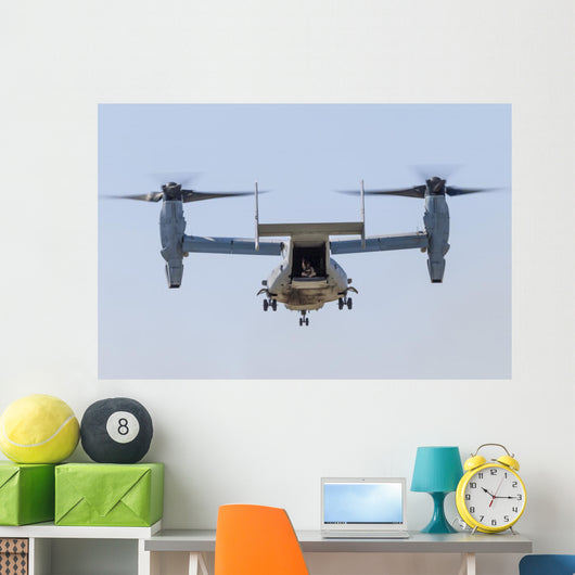Us Marine Corps V-22 Open Hatch Wall Decal