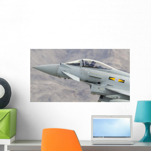 Royal Air Force Eurofighter Cockpit Close-up Wall Decal