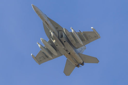 Us Navy Ea-18g Growler In-Flight Wall Decal