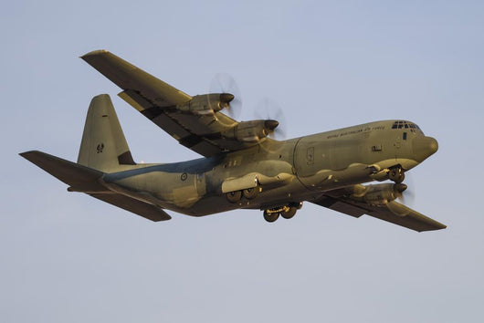 C-130j Super Hercules Royal In-Flight Wall Decal