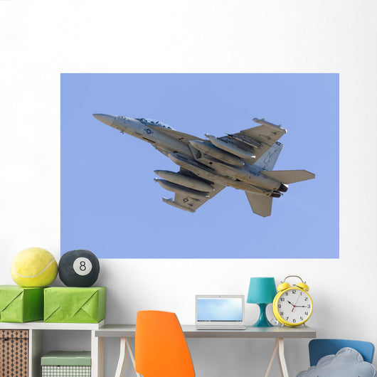 Us Navy Ea-18g Growler Wall Decal