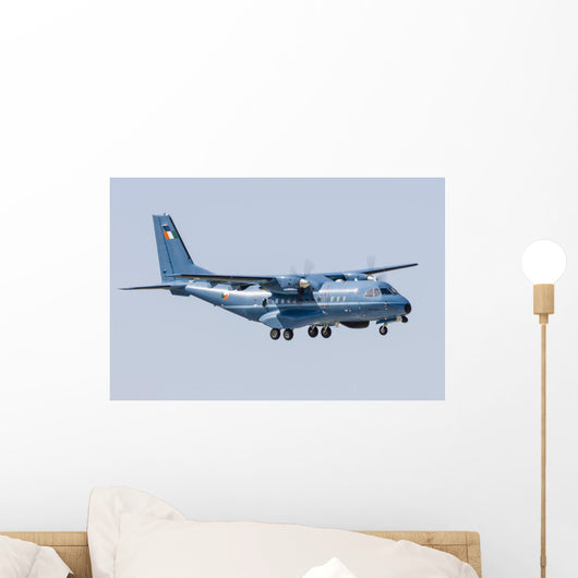 Cn-235 Transport Aircraft Irish Wall Decal