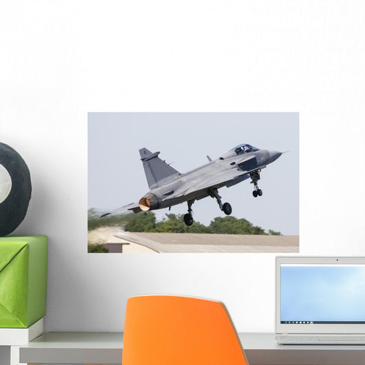 Jas-39 Gripen Swedish Air Wall Decal