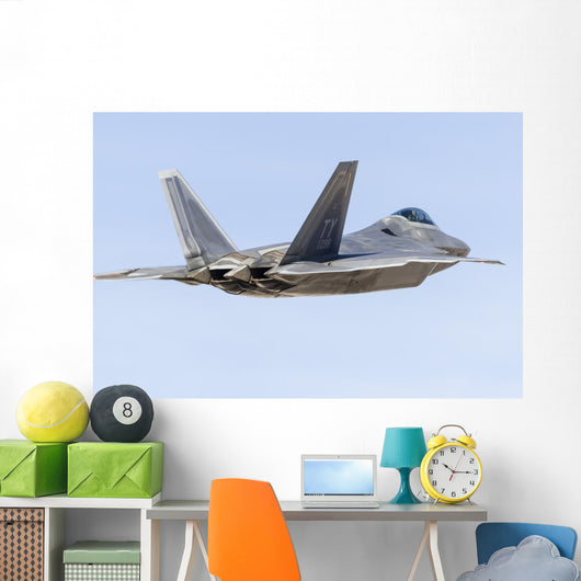 Us Air Force F-22a Back Wall Decal