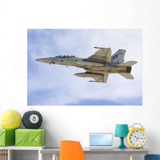 Royal Australian Air Force Left Side Wall Decal