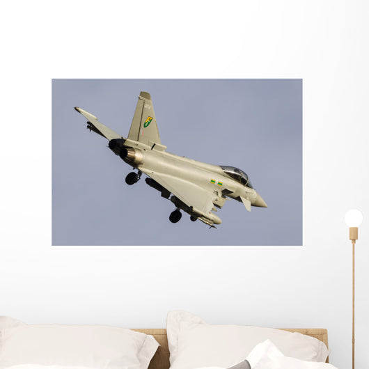 Royal Air Force Typhoon In-Flight Wall Decal