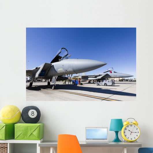 Us Air Force F-15c Right Profile Wall Decal