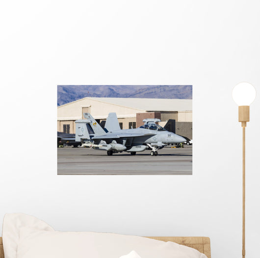 Us Navy E A-18g Grounded Wall Decal