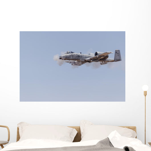 Us Air Force A-10 Distant Smoke Wall Decal