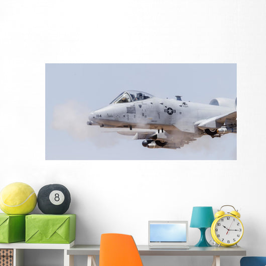 Us Air Force A-10 Left Profile Wall Decal