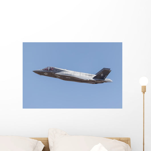 Us Marine Corps F-35b Left Wall Decal