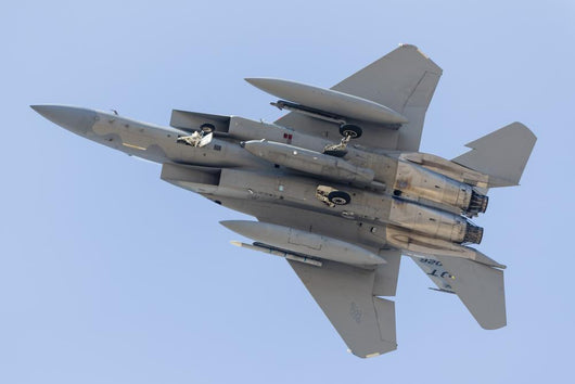 Us Air Force F-15c Underneath Wall Decal