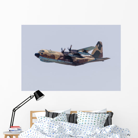 Spanish Air Force Kc-130 In-Flight Wall Decal