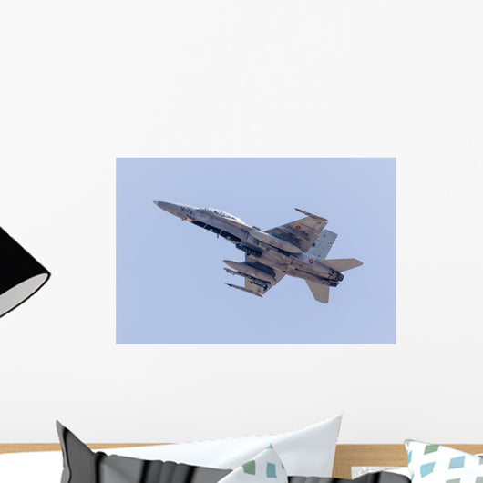 Spanish Air Force F Bottom Wall Decal
