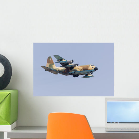 Spanish Air Force Kc-130 Wall Decal