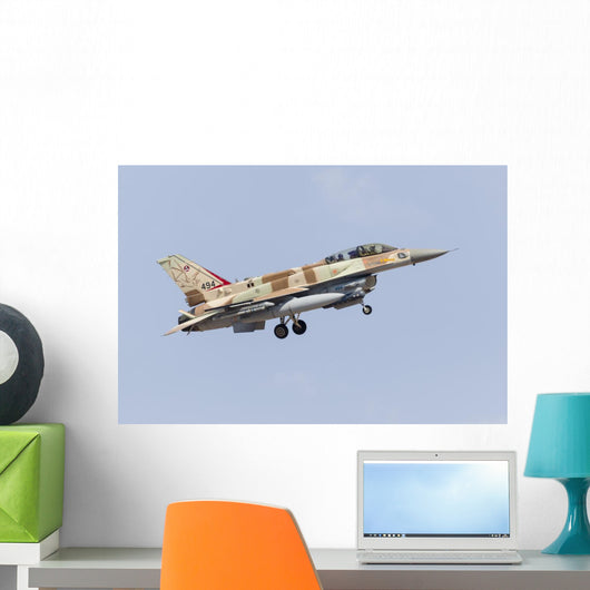 Israeli Air Force F-16i Wall Decal