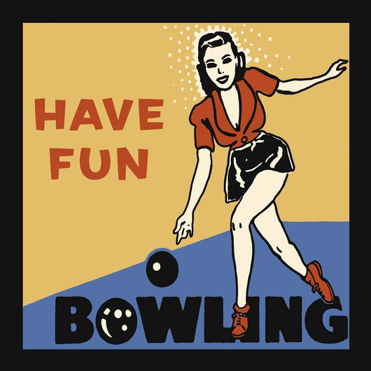 Have Fun Bowling Wall Mural