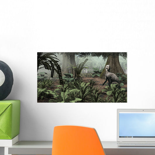 Psittacosaurus Sinensis Rests His Wall Decal