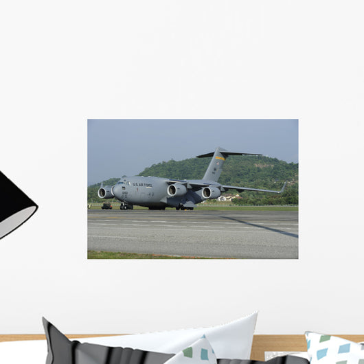 C-17 Globemaster Iii Us Wall Decal Design 2