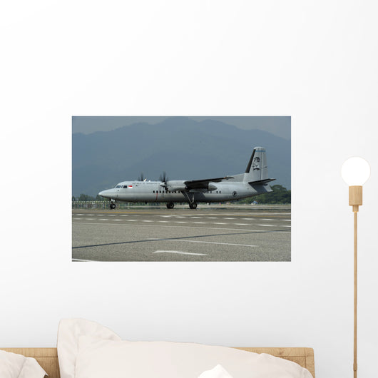 Fokker F-27 Friendship Singapore Wall Decal