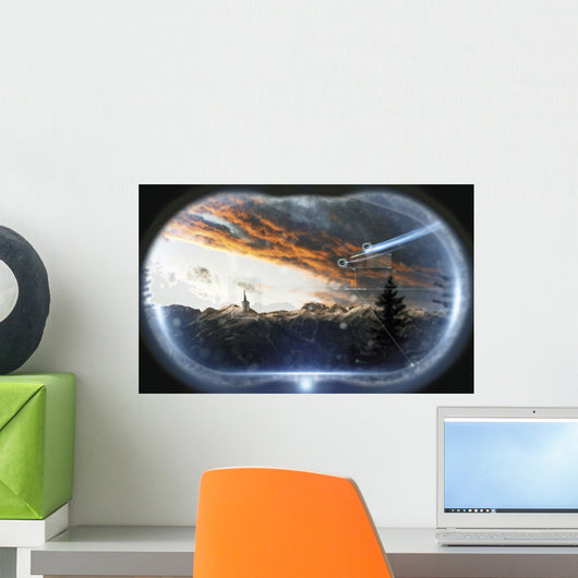 Incoming Ships Being Watched Wall Decal