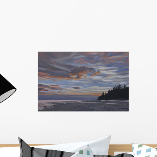 Qualicum Evening Wall Decal