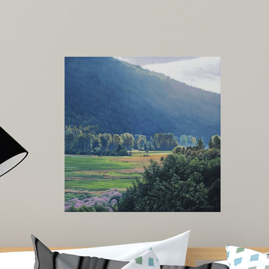 St Mary's Valley Wall Decal