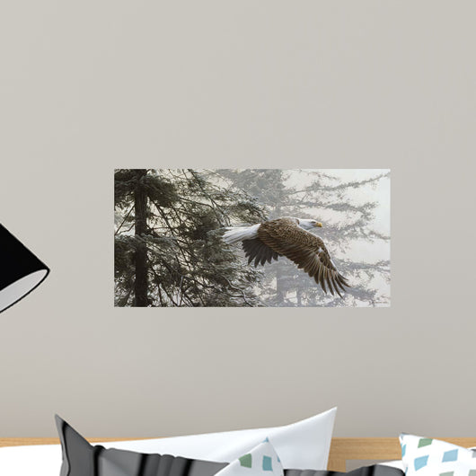 Through Firs Wall Decal
