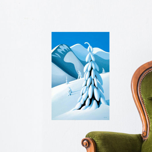 After Snow Storm Wall Decal