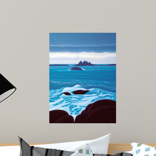 Lowering Sky Wall Decal