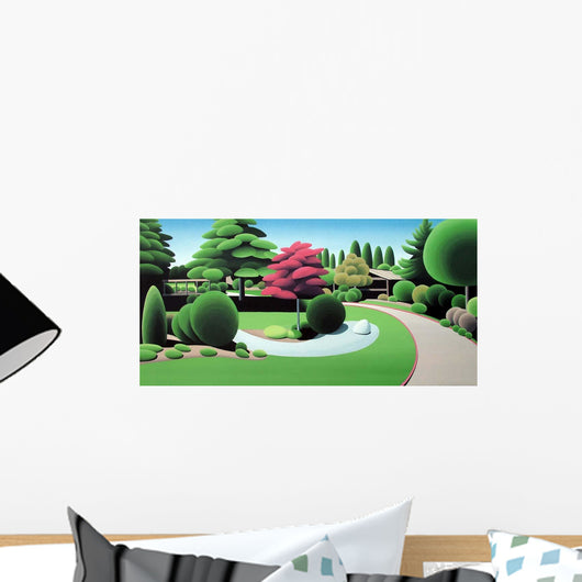 Saanich Hospital Garden Wall Decal