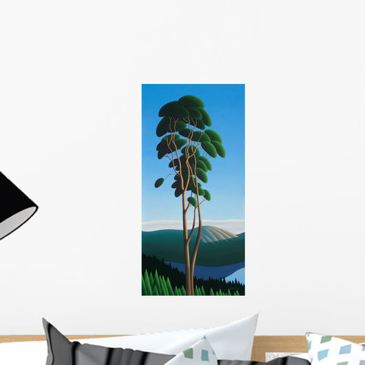 Above Finlayson Arm Wall Decal