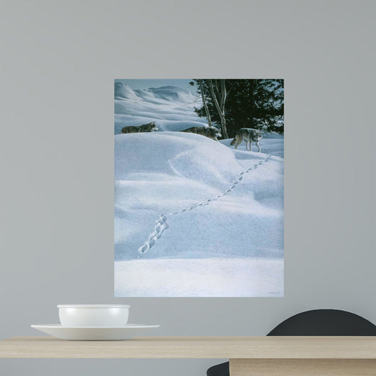 Winter Tracking Wall Decal