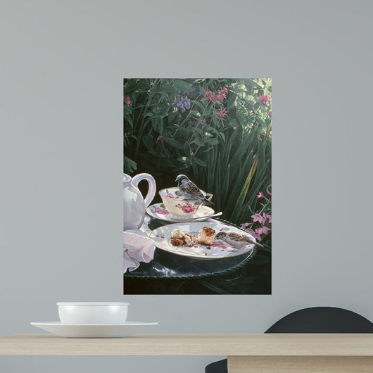 Tea for Two Wall Decal