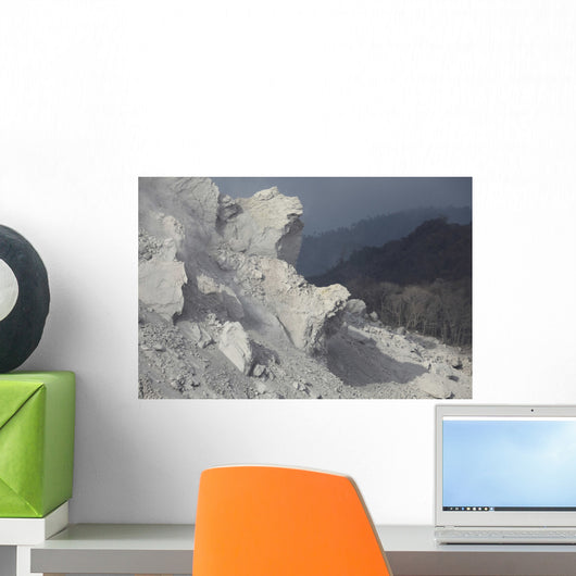 Extrusion Lobes Flank Rerombola Wall Decal Design 1