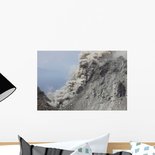Pyroclastic Flow Flank Rerombola Wall Decal