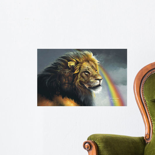 Lion Of Judah Wall Mural