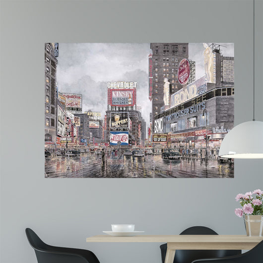 Times Square: New York Wall Mural