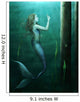 Mermaid Curiosity Wall Mural