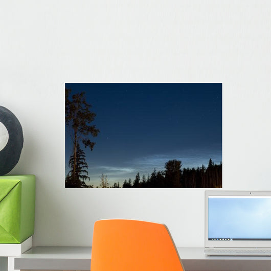 Noctilucent Coluds Wall Decal Design 2