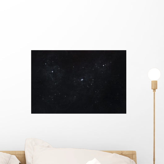 Cluster Stars Outer Space Wall Decal